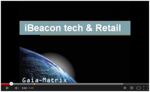 Teaser video iBeacon tech and Retail