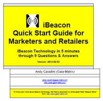 iBeacon Quick Start Guide cover